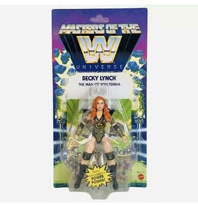 $28.99 • Buy Masters Of The WWE Universe MOTU Becky Lynch Wave 5 Brand New Sealed Figure