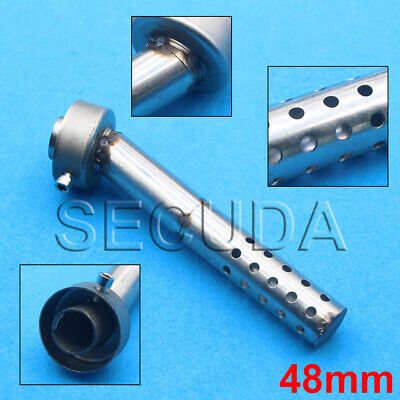 AU19.52 • Buy 48mm Motorcycle Angled Exhaust Muffler Insert Baffle Can Bend DB Killer Silencer