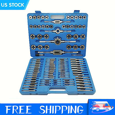$24.99 • Buy M3-M12 40 PCS Titanium Coated METRIC Tap And Die Set Standard Heavy Duty TO