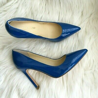 $ CDN151.15 • Buy Ivanka Trump Shoes 7 Blue Patent Leather Itcarra Pumps - Size 7 NEW