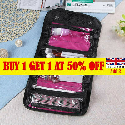 £6.86 • Buy Women Cosmetic Bag Makeup Hanging Organizer Case Wash Travel Toiletry Pouch CA