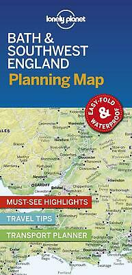£5.15 • Buy Lonely Planet Bath & Southwest England Planning Map By Lonely Planet (English) C