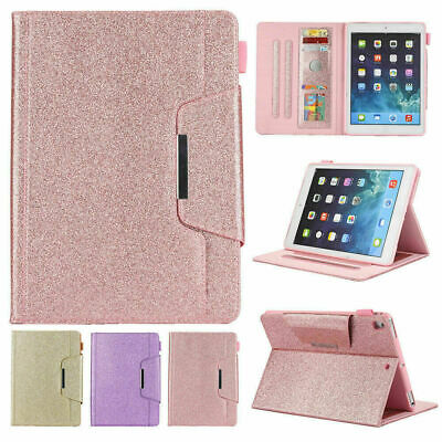 £15.99 • Buy Luxury Bling Folio Leather Wallet Stand Magnetic Smart Case For IPad Mini Pro 11