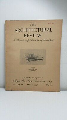 £24.78 • Buy The Architectural Review, October 1938