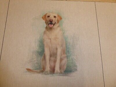 £6.05 • Buy LABRADOR - Linen Look Cotton Fabric - CUSHION PANELS And By The Metre