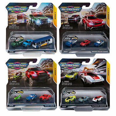 £7.99 • Buy Micro Machines Starter Pack Series 2 & 3 *Choose Your Favourite*