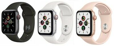 $ CDN306.19 • Buy Apple Watch SE 40mm 44mm GPS + Cellular  LTE Gold Space Gray Silver Pristine