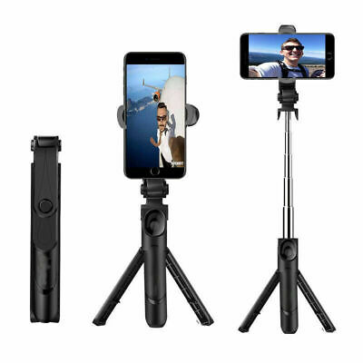 Telescopic Selfie Stick Bluetooth Tripod Monopod Phone Holder For IPhone Android • 6.59£