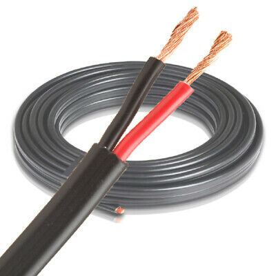 AU22.99 • Buy 4mm Twin Core Black/Red Auto Cable 10M Wire | 12V Wiring Auto Cable | Battery El