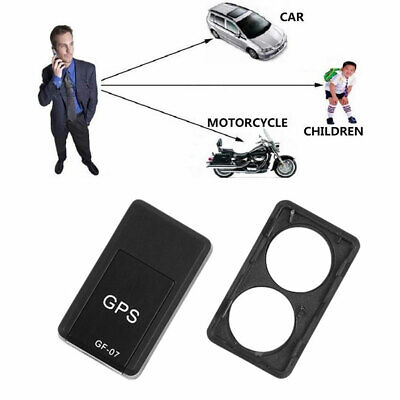 AU20.58 • Buy GF07 Smart Magnetic Mini Car Tracker GPS Real Time Tracking Locator Device RA
