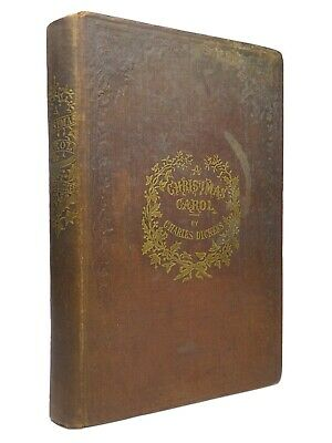 £2500 • Buy A Christmas Carol By Charles Dickens 1844 Sixth Edition