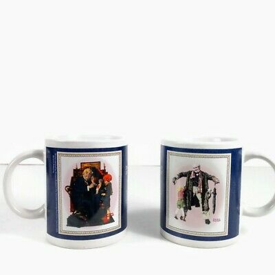 $ CDN15.71 • Buy Norman Rockwell Coffee Mugs  Doctor & Doll  -  The Gift  Saturday Evening Post
