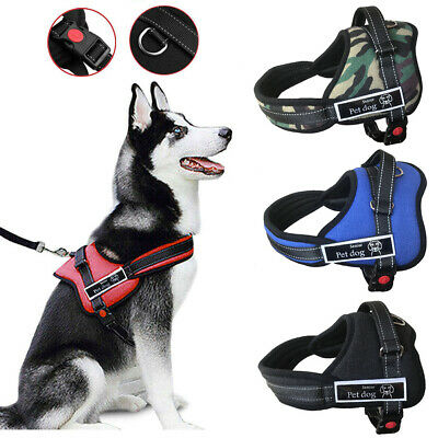 £7.75 • Buy No-pull Dog Harness Outdoor Adventure Pet Vest Padded Handle For Big Dog S-XXL