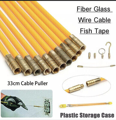 £13.99 • Buy CABLE ACCESS KIT KITS ELECTRICIANS PUSH PULL PULLER ROD RODS WIRE WIRES 4mm UK