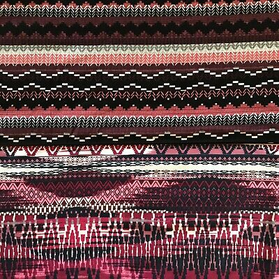 £4.99 • Buy Viscose Jersey Fabric Aztec Printed Lycra Sold By The Metre