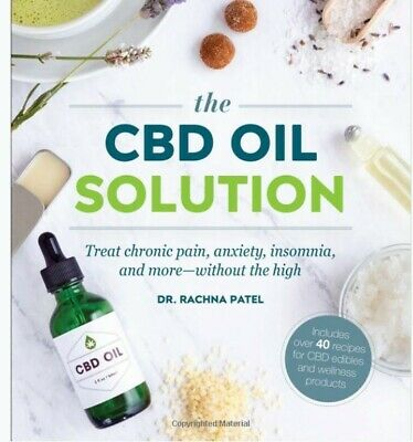 £12.50 • Buy The CBD Oil Solution: Treat Chronic Pain  Anxiety  Insomnia   New Paperback Book