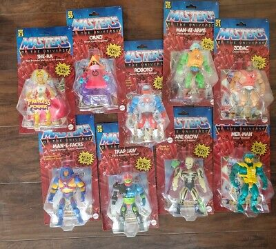 $289.95 • Buy Masters Of The Universe Retro Play Man-E-Faces  Trap Jaw Scare Glow Orko (LOT 9)