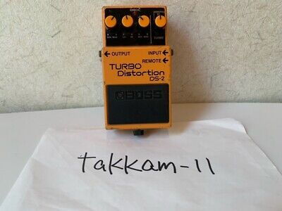 $ CDN77.70 • Buy BOSS DS-2 Distortion Guitar Effect Pedal TURBO From JAPAN JP Used FREE SHIPPING