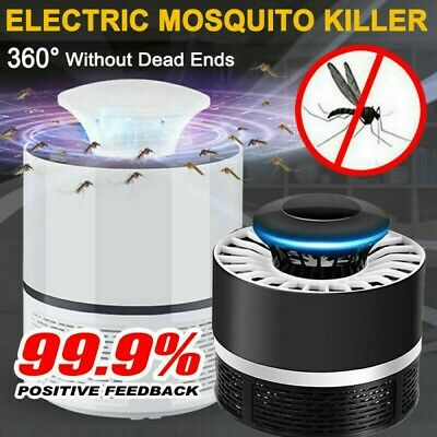 AU11.35 • Buy USB Mosquito Insect Killer Electric LED Light Fly Bug Zapper Trap Mozzie Lamp AU