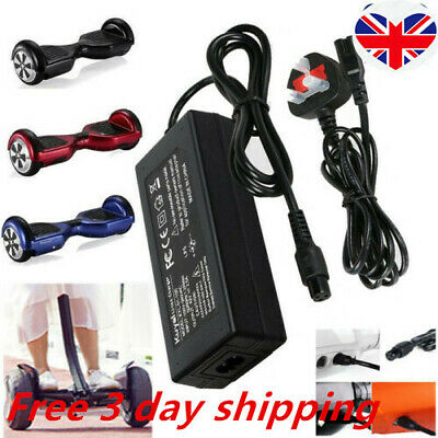 £7.99 • Buy UK Plug Charger Power Adapter For Segway Swegway Hoverboard Balance Board