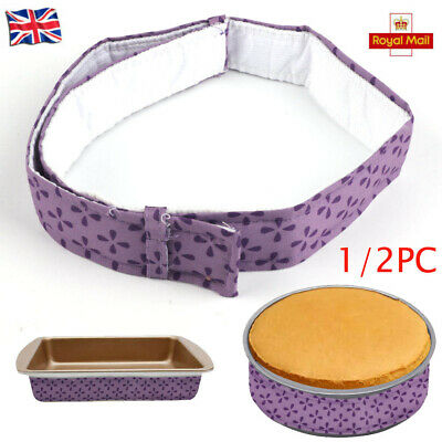 1/2x Wilton Bake Even Strips Belt Bake Even Bake Moist Level Cake Baking Tool UK • 4.98£