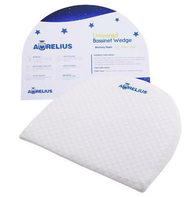 £19.99 • Buy Aurelius Universal Bassinet Wedge Pillow For Baby Nasal Congestion Reducer