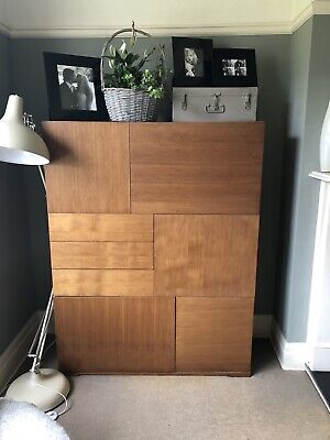 £500 • Buy Heal's Teak Finish Cupboards GUC (Pair For £800 Or Single Unit For £500. )
