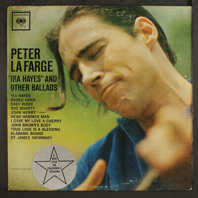 $ CDN37.49 • Buy PETER LAFARGE: Ira Hayes And Other Ballads COLUMBIA 12  LP 33 RPM