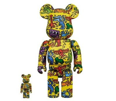 $369 • Buy BE@RBRICK X Keith Haring #5 100% 400% From Japan Be@rbrick F/S