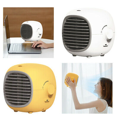 AU43.80 • Buy Compact Air Conditioner USB Personal Unit Cooling Fan Desk Humidifier Office