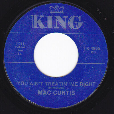 Rockabilly RI 45 - MAC CURTIS - You Ain't Treatin' Me Right / The Low Road • 7.28£