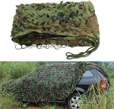 £7.99 • Buy Camouflage Camo Netting Woodland Net Hunting Shooting Hide Army Camp Decorations