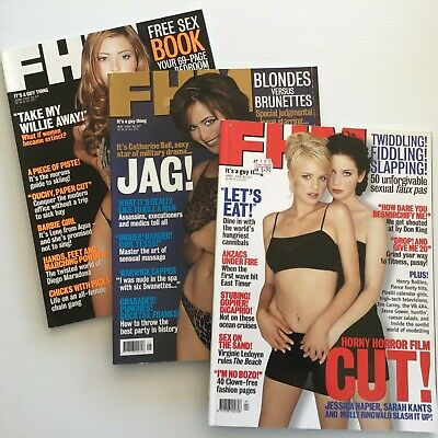 AU9 • Buy FHM Magazine (3) Apr/May/Jun 2000, Holly Valance & Catherine Bell
