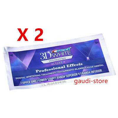AU48.28 • Buy Crest 3D Professional Effects Teeth Whitening Strips 2 5 7 10 20 Pouches