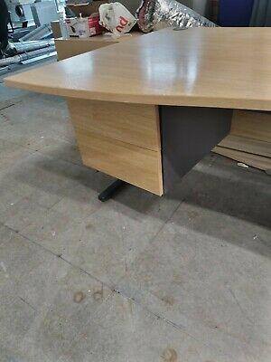 £59 • Buy Wave Office Desks - 2 Drawers 1200w 25+ For Sale L & R - Dividers Also Available