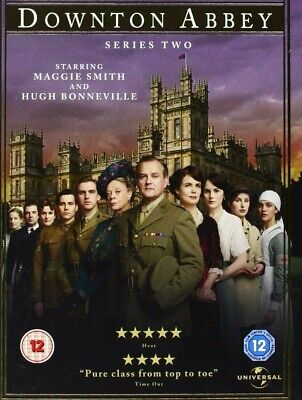 £9.99 • Buy Downtown Abbey Series 2 [5 Disc Set], [DVD] *New & Factory Sealed*