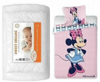 £64.90 • Buy Baby Bedding Set For Toddler Bed 100x135cm For Cot Baby Crib 4 In 1 Mickey Mouse