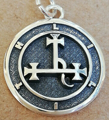 $ CDN58.08 • Buy Sterling Silver 925 Seal Sigil Of Lilith Handmade 3D Pendant