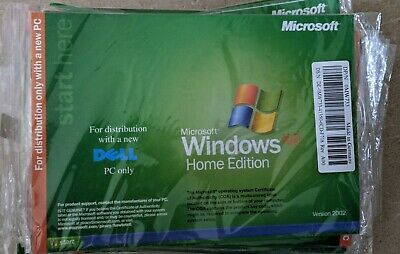£10 • Buy Sealed Microsoft Windows XP Home Edition SP2 Reinstallation Software For Dell PC