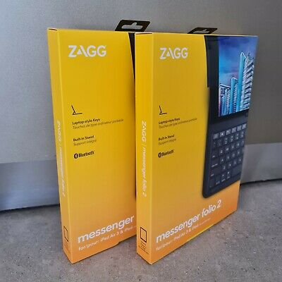 AU65 • Buy ZAGG Messenger Folio 2 Case With Keyboard For IPad 7th & 8th Gen And IPad Air 3