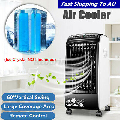 AU92.11 • Buy Black Portable Remote Air Conditioner Fan Conditioning Cooler Cooling Humidifie