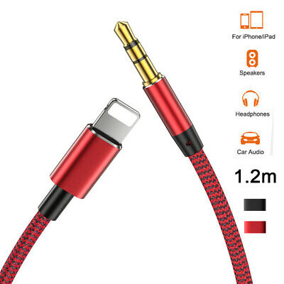 £3.95 • Buy For IPhone 12 11 8 7 To 3.5mm Jack Aux Cable Car Stereo Audio Music Headset Lead