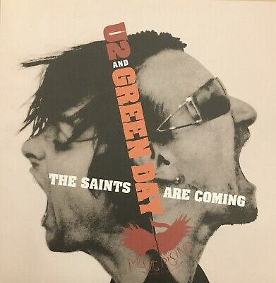 """£13.46 • Buy U2/GREEN DAY  7"""" (Numbered) ***UNPLAYED*** 'The Saints Are Coming' 1713138"""