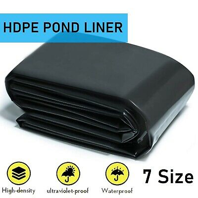 £13.99 • Buy Fish POND LINER Garden Pond Landscaping Pool Plastic Thick Heavy Duty Waterproof