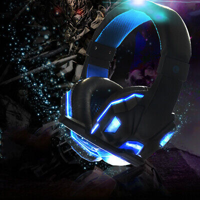 AU32.65 • Buy 3.5mm Gaming Headset MIC LED Headphones Surround For PC Mac Laptop PS4 Xbox One