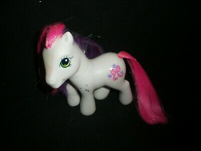 G3 My Little Pony Cute Curtsey - 2006 Crystal Princess Carriage Ponies (2018A) • 3£