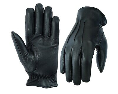 £8.99 • Buy Mens Driving Gloves Top Quality Soft Genuine Real Leather - Black