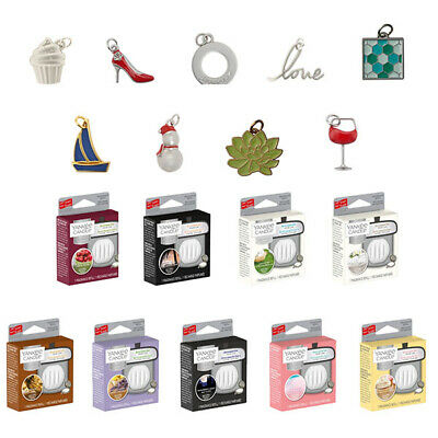 £4.99 • Buy Yankee Candle Charming Scents Car Air Freshner Refill And Charms