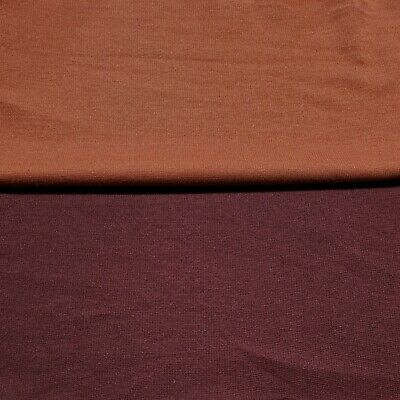 Ponte Jersey Fabric Soft Touch 55  Wide Polyester Lycra 2 Way Stretch  • 4.99£