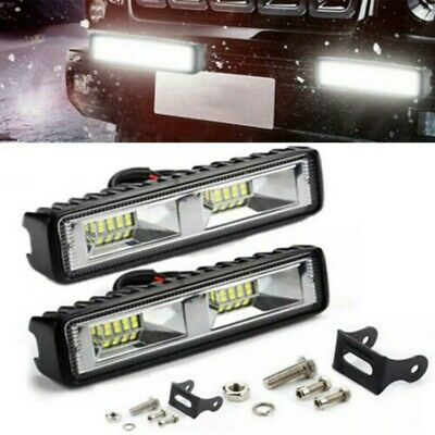 AU15.03 • Buy 2PCS 6 Inch 18W CREE LED Flood Light Bar Work Reverse Offroad SUV Driving Lamps